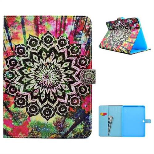 Colorful Folio Flip Stand Leather Wallet Case for Samsung Galaxy Tab 4 10.1 T530 T531 T533 T535