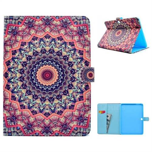 Orange Folio Flip Stand Leather Wallet Case for Samsung Galaxy Tab 4 10.1 T530 T531 T533 T535