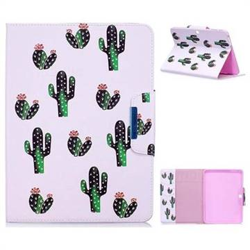 Cactus Folio Flip Stand Leather Wallet Case for Samsung Galaxy Tab 4 10.1 T530 T531 T533 T535