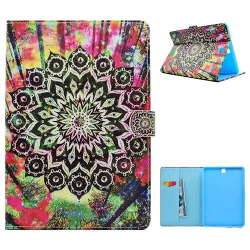 Colorful Folio Flip Stand Leather Wallet Case for Samsung Galaxy Tab A 9.7 T550 T555