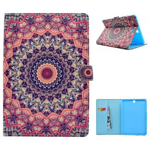 Orange Folio Flip Stand Leather Wallet Case for Samsung Galaxy Tab A 9.7 T550 T555