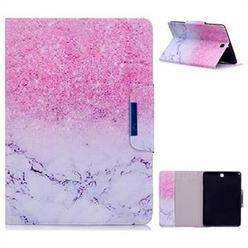 Sand Marble Folio Flip Stand Leather Wallet Case for Samsung Galaxy Tab A 9.7 T550 T555