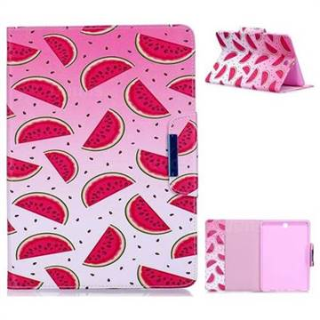 Watermelon Folio Flip Stand Leather Wallet Case for Samsung Galaxy Tab A 9.7 T550 T555