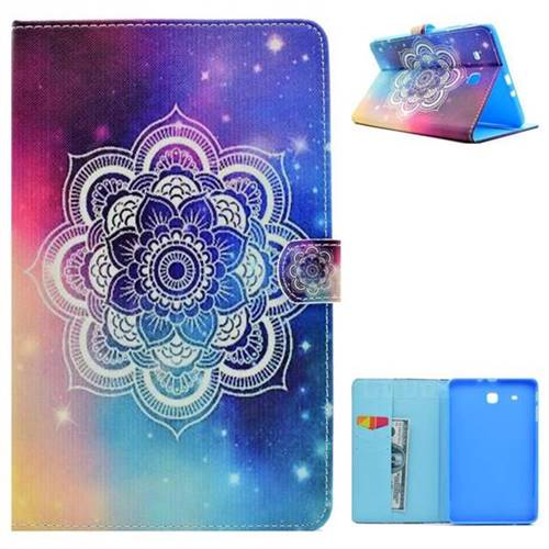 Sky Folio Flip Stand Leather Wallet Case for Samsung Galaxy Tab E 9.6 T560 T561