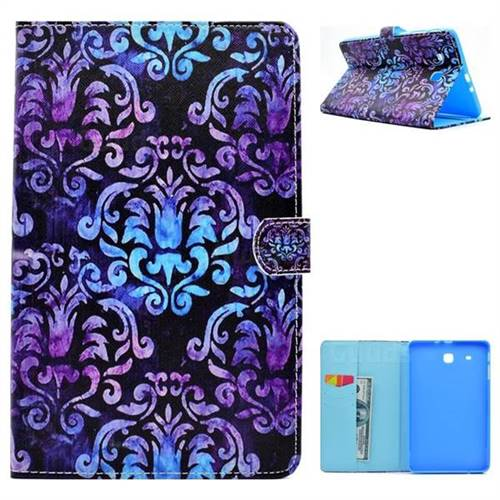 Royal Folio Flip Stand Leather Wallet Case for Samsung Galaxy Tab E 9.6 T560 T561