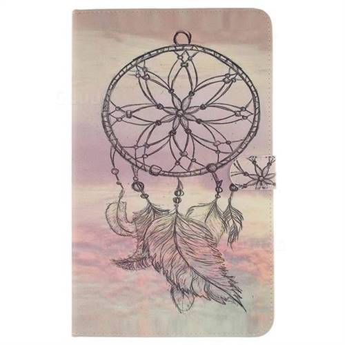 Dream Catcher Painting Tablet Leather Wallet Flip Cover for Samsung Galaxy Tab A 10.1 T580 T585 - Leather Case - Guuds