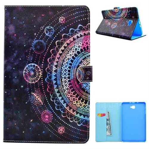 Universe Folio Flip Stand Leather Wallet Case for Samsung Galaxy Tab A 10.1 T580 T585