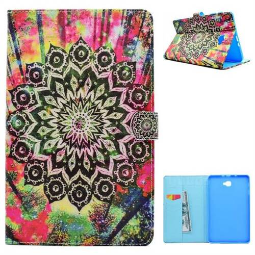 Colorful Folio Flip Stand Leather Wallet Case for Samsung Galaxy Tab A 10.1 T580 T585