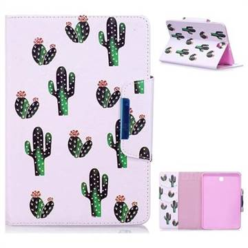 Cactus Folio Flip Stand Leather Wallet Case for Samsung Galaxy Tab S2 8.0 T710 T715 T719