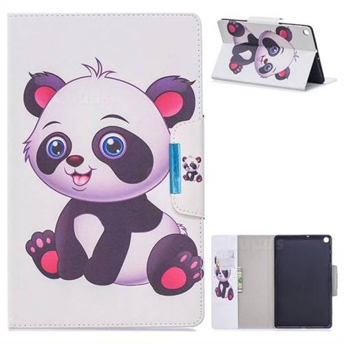 Baby Panda Folio Flip Stand Leather Wallet Case for Samsung Galaxy Tab S5e 10.5 T720 T725
