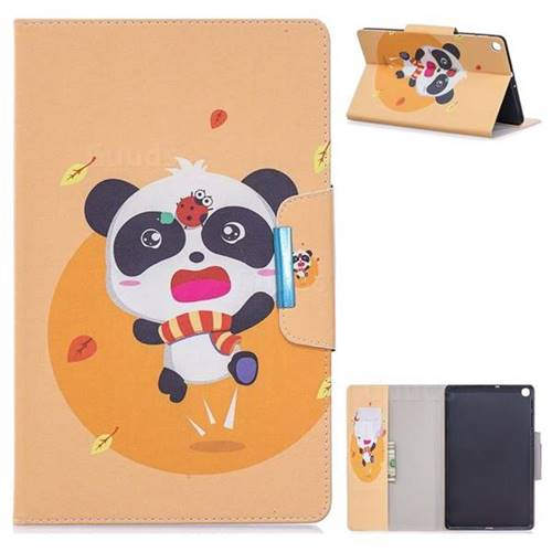 Ladybug Panda Folio Flip Stand Leather Wallet Case for Samsung Galaxy Tab S5e 10.5 T720 T725