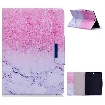 Sand Marble Folio Flip Stand Leather Wallet Case for Samsung Galaxy Tab S2 9.7 T810 T815 T819