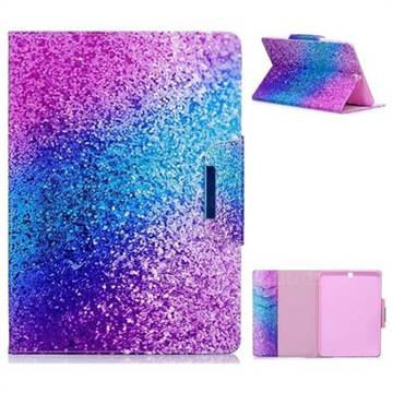 Rainbow Sand Folio Flip Stand Leather Wallet Case for Samsung Galaxy Tab S2 9.7 T810 T815 T819
