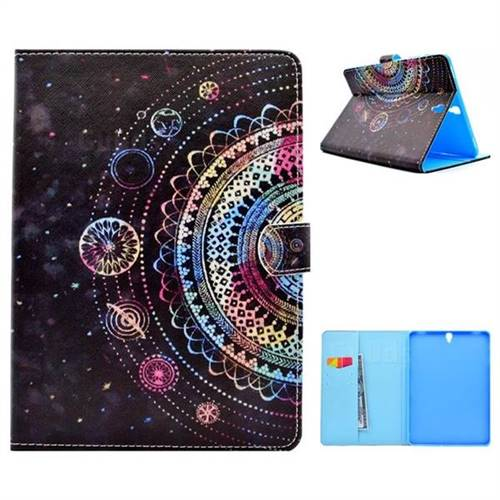 Universe Folio Flip Stand Leather Wallet Case for Samsung Galaxy Tab S3 9.7 T820 T825