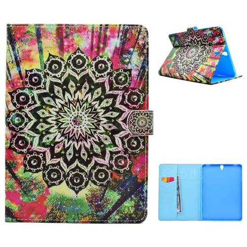 Colorful Folio Flip Stand Leather Wallet Case for Samsung Galaxy Tab S3 9.7 T820 T825