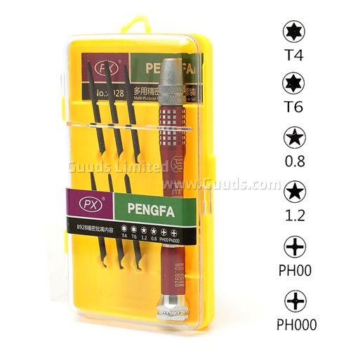 Screwdriver Repair Tools Set with Torx Screwdriver + Pentalobe Screwdriver + Phillips Screwdriver for iPhone / mobile phones