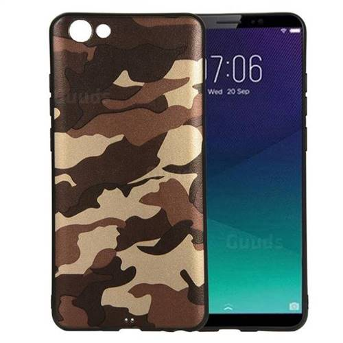 best website c67f2 03ee0 Camouflage Soft TPU Back Cover for vivo Y71(vivo Y71i) - Gold Coffee