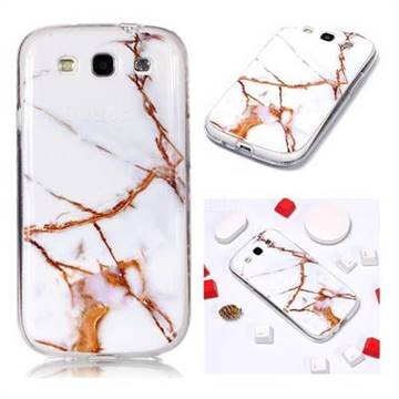 Platinum Soft TPU Marble Pattern Phone Case for Samsung Galaxy S3