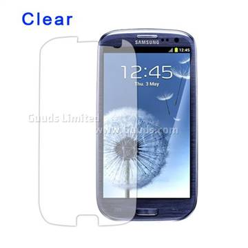 Clear Screen Guard for Samsung i9300 Galaxy S 3 / III