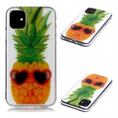 Cute Pineapple Super Clear Soft TPU Back Cover for iPhone 11 (6.1 inch)