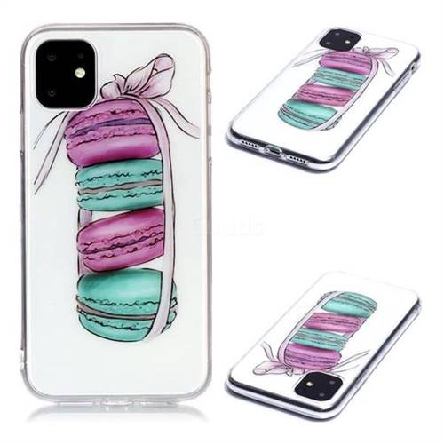 Macaron Super Clear Soft TPU Back Cover for iPhone 11 (6.1 inch)