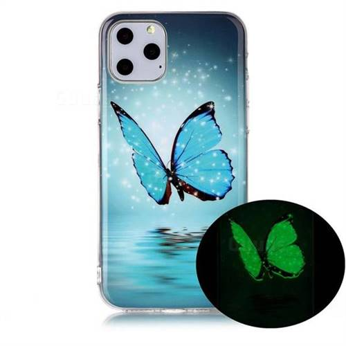 Butterfly Noctilucent Soft TPU Back Cover for iPhone 11 (6.1 inch)