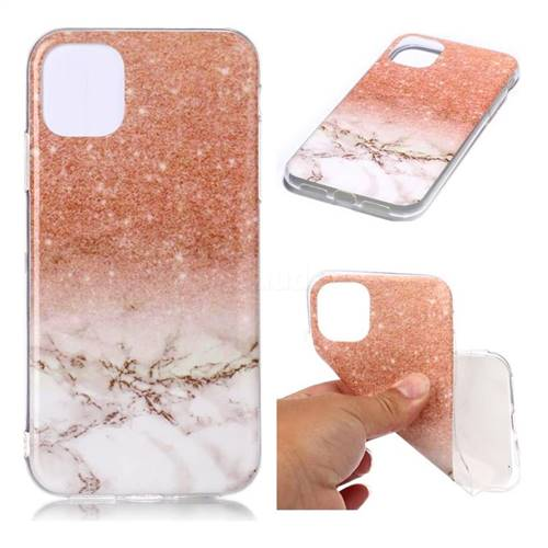 Glittering Rose Gold Soft Tpu Marble Pattern Case For Iphone 11 6 1 Inch Iphone 11 6 1 Inch Cases Guuds