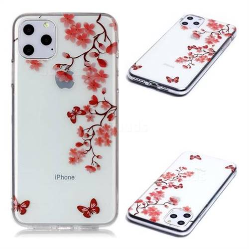 Plum Blossom Super Clear Soft TPU Back Cover for iPhone 11 Pro Max (6.5 inch)