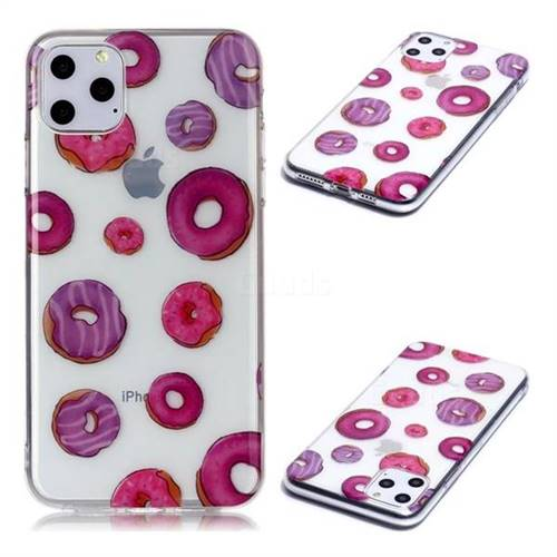 Donuts Super Clear Soft TPU Back Cover for iPhone 11 Pro Max (6.5 inch)