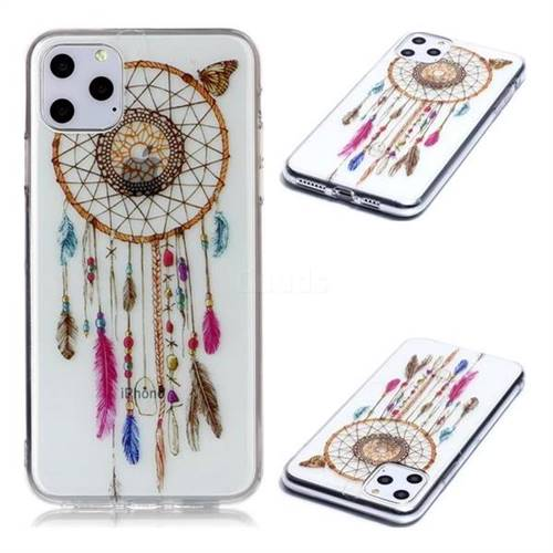 Wind Chimes Butterfly Super Clear Soft TPU Back Cover for iPhone 11 Pro Max (6.5 inch)