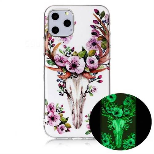 Sika Deer Noctilucent Soft TPU Back Cover for iPhone 11 Pro Max (6.5 inch)