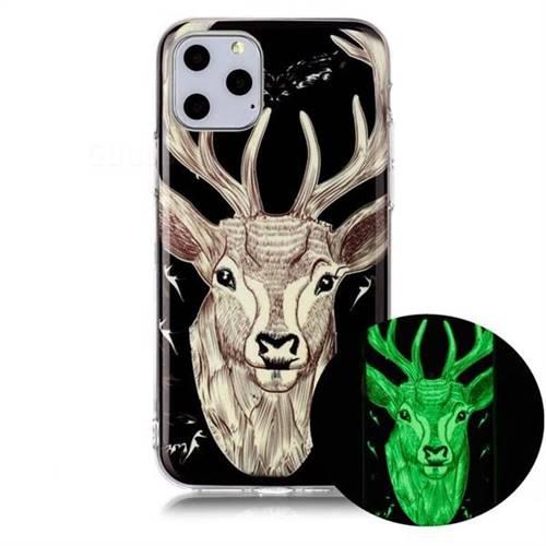 Fly Deer Noctilucent Soft TPU Back Cover for iPhone 11 Pro Max (6.5 inch)