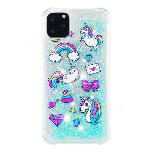 Unicorn glitter case iphone 11 pro max