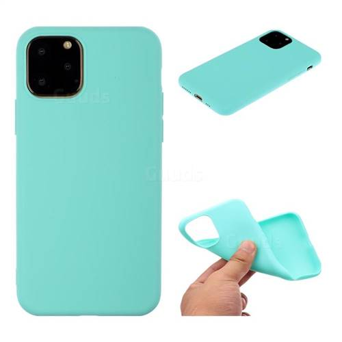 Candy Soft TPU Back Cover for iPhone 11 Pro Max (6.5 inch) , Green