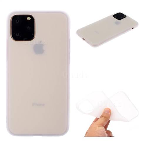 Candy Soft TPU Back Cover for iPhone 11 Pro Max (6.5 inch) , White