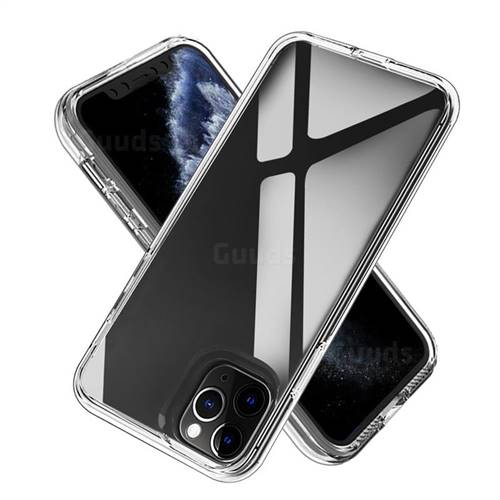 Transparent 2 in 1 Drop-proof Cell Phone Back Cover for iPhone 11 Pro Max (6.5 inch)