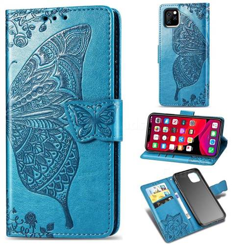 Mandala Blue iPhone 11 case
