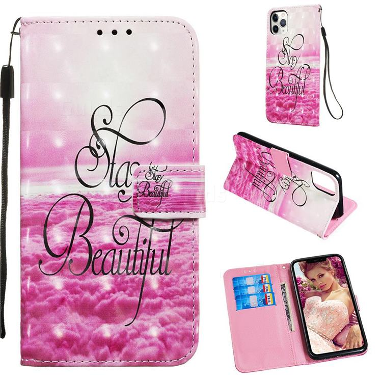 Beautiful 3D Painted Leather Wallet Case for iPhone 11 Pro Max (6.5 inch)