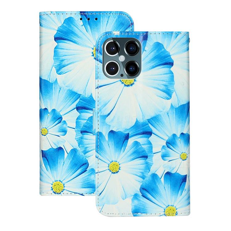 Orchid Flower PU Leather Wallet Case for iPhone 12 Pro Max (6.7 inch)