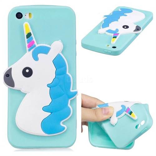 Unicorn Soft 3D Silicone Case for iPhone SE 5s 5