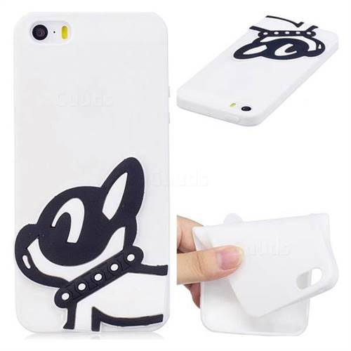 Cute Dog Soft 3D Silicone Case for iPhone SE 5s 5