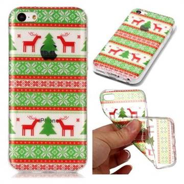 Tribe Elk Super Clear Soft TPU Back Cover for iPhone 5c