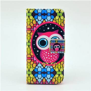 Owl Iphone  Wallet Case