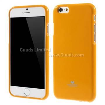 huge selection of 1bdea 3945e Mercury Goospery Glitter Powder Jelly TPU Back Cover for iPhone 6 (4.7  inch) - Orange