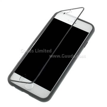 sneakers for cheap fac01 68b35 TPU Flip Cover with Transparent PC Screen Cover for iPhone 6s 6(4.7 inch) -  Black