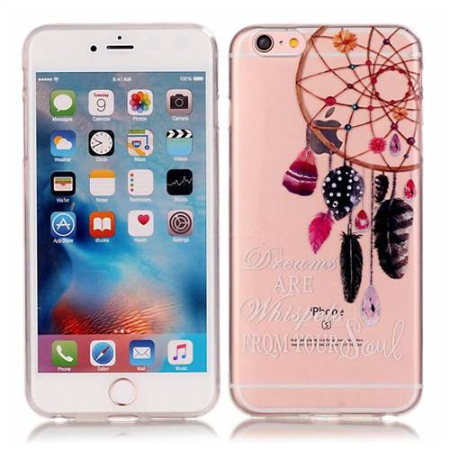 Dreamcatcher High Transparent Soft TPU Back Cover for iPhone 6s 6 (4.7 inch)