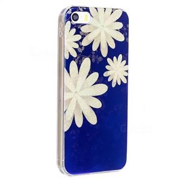 new style c268a 30752 White Chrysanthemum Flash Powder Blue Ray Light Soft Back ...