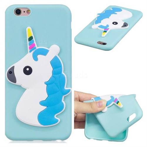 Unicorn Soft 3D Silicone Case for iPhone 6s 6 6G(4.7 inch)