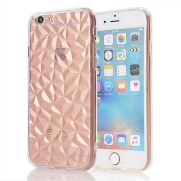 Diamond Pattern Shining Soft TPU Phone Back Cover for iPhone 6s 6 6G(4.7 inch) - Transparent