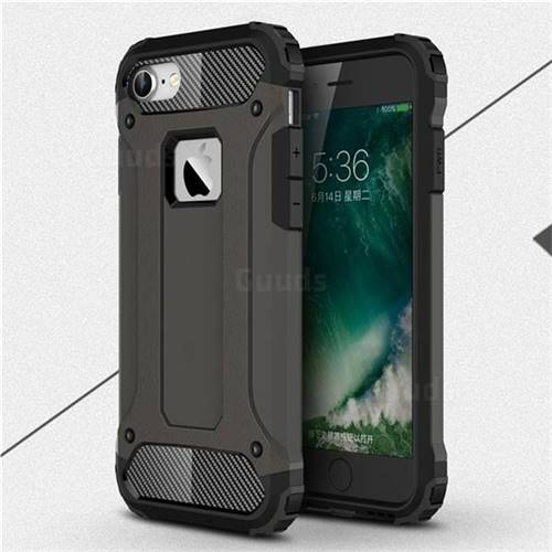King Kong Armor Premium Shockproof Dual Layer Rugged Hard Cover for iPhone 6s 6 6G(4.7 inch) - Bronze